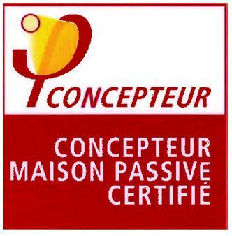 Logo Concepteur Maison Passive