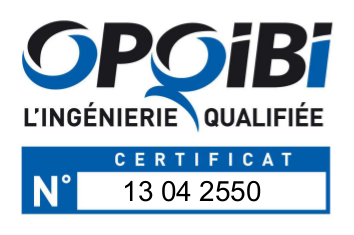 Logo certification OPQIBI