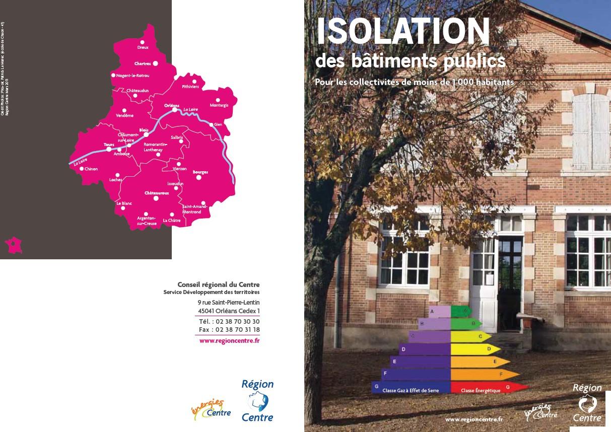Isolation des bâtiments publiques