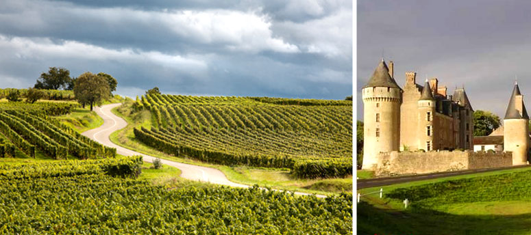 Tourisme and restaurants in Loire Valley, Touraine