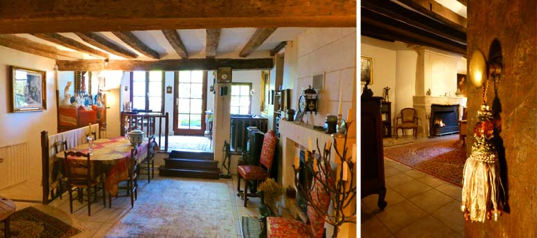 Bed and breakfast and gite in Loches, Loire Valley