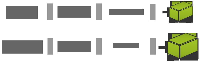 2 tailles de box de stockage vous sont proposées